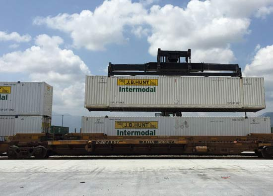 learn more about intermodal services available from jb hunt including expedited and premium service levels and transloading programs