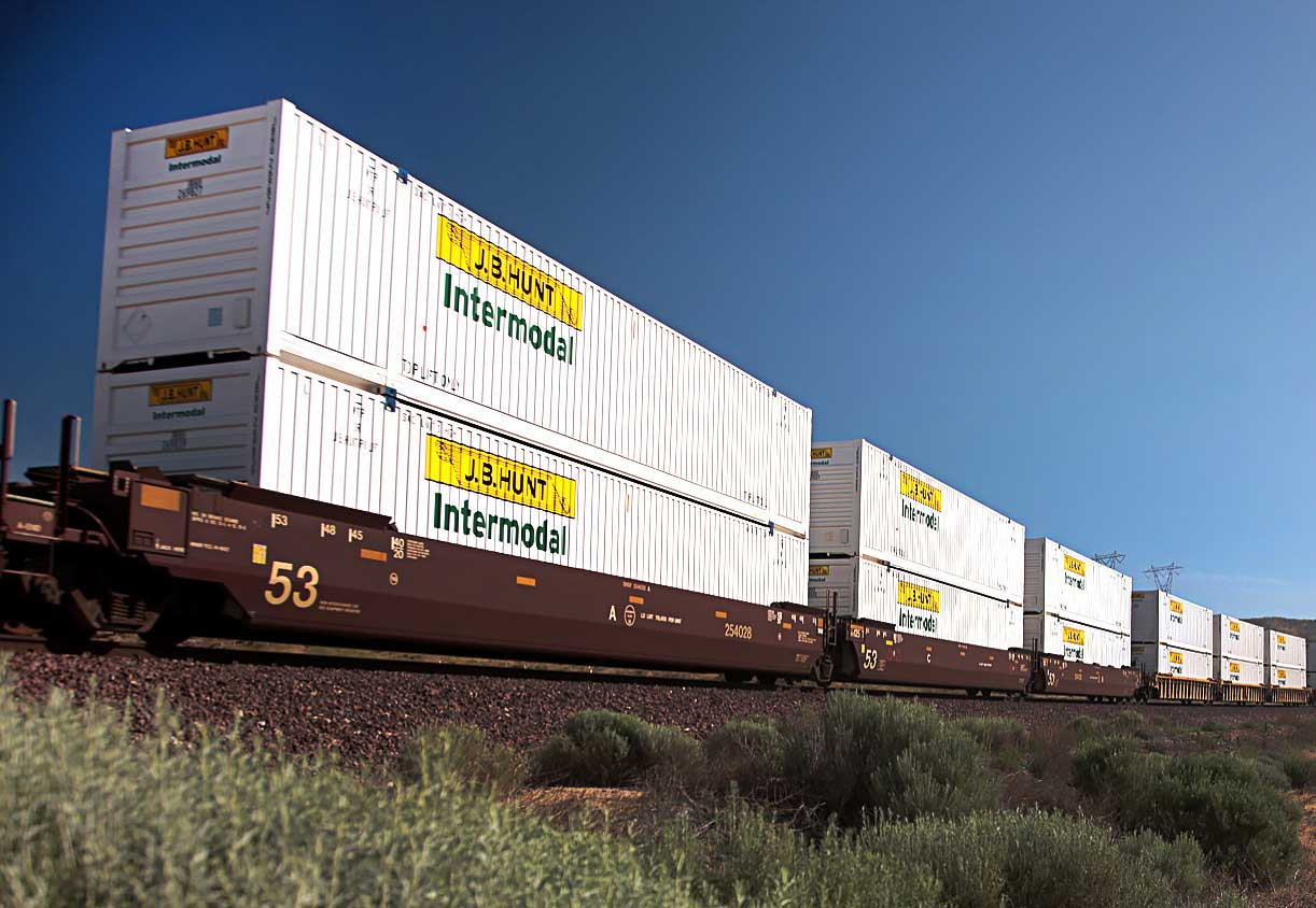 Intermodal Freight Shipping | J B  Hunt Transport